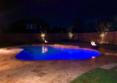 Alamo Custom_pool_4_night_view